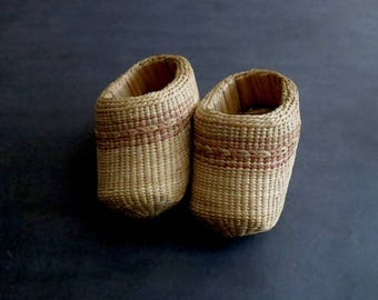 Vintage Sweet Woven Shoes In Perfect Condition