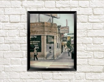 Carol's Pub photo in Uptown, Chicago - photography print