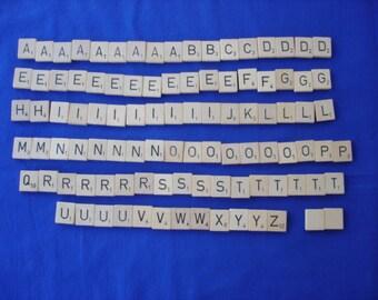Scrabble Tiles Full Set of 100