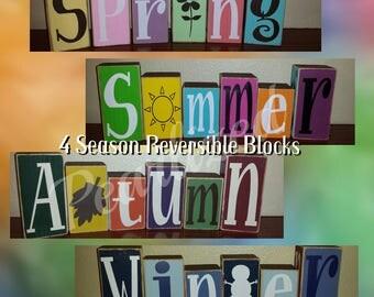 NEW NEW NEW 4 Seasons Reversible Blocks!