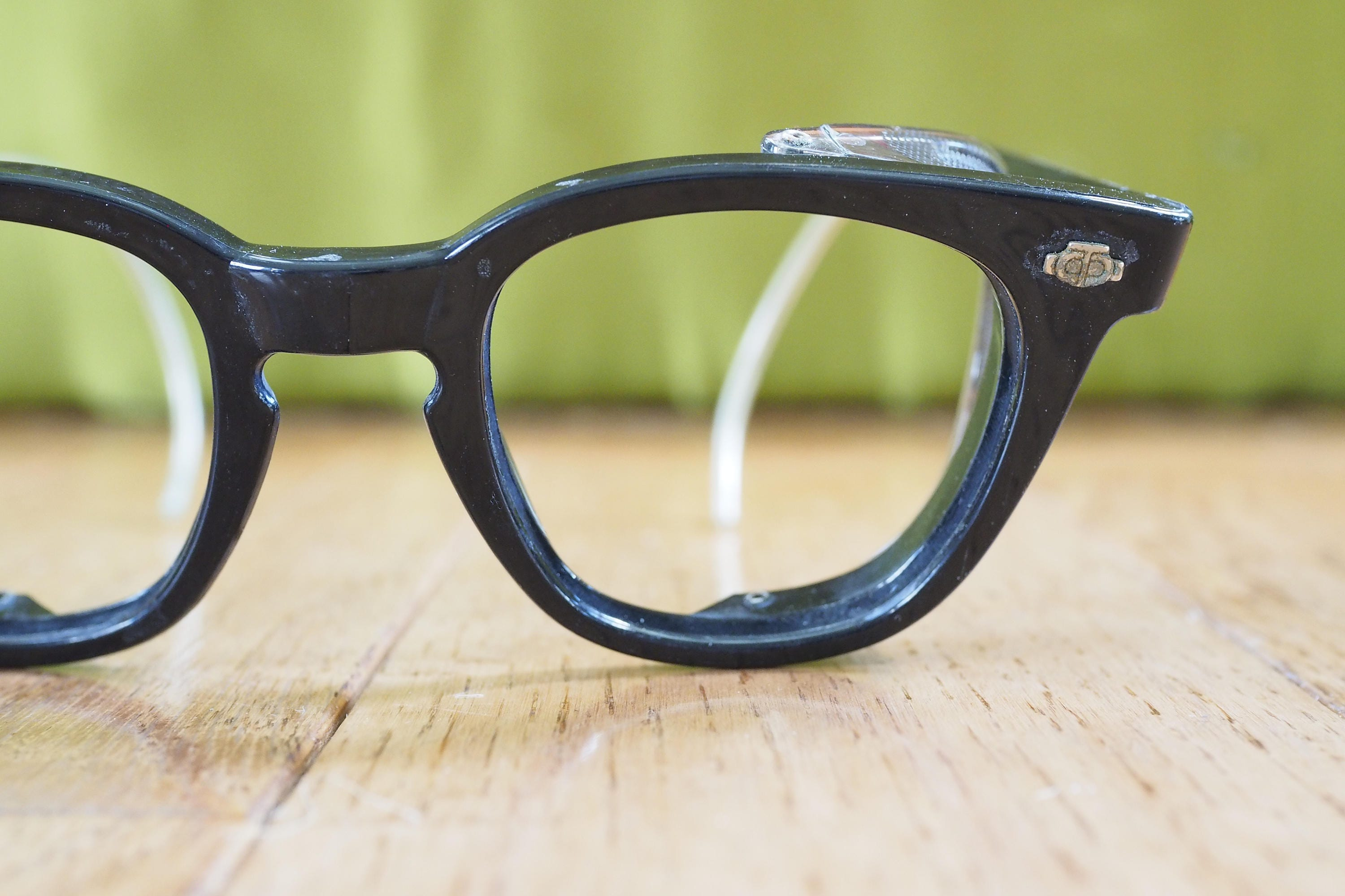 Eyeglass Vintage 1970\'s Frames By Titmus With Side Shields Steampunk ...