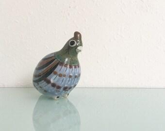 Vintage Ken Edwards El Palomar Ceramic Quail