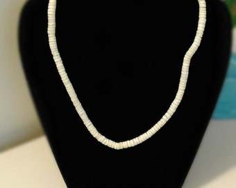 White Conch Shell Necklace