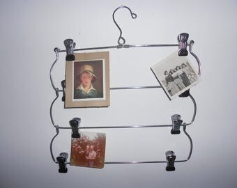 Vintage four tier skirt hanger, picturer hanger, catch all, wall hanger for display