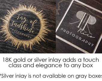 Extras - add Gold or Silver Inlay to your engraving