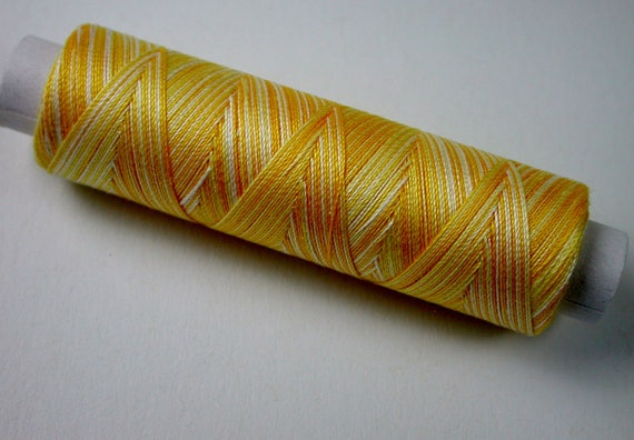 8-3012 Venne cotton gradient, knitting and crochet yarn for the miniature handmade, color Sun