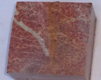 Marbled Carving Stone for Fetishes or Peace Pipe,Soap Stone  B16
