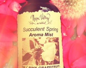 Succulent Spring Aroma Mist (in 2oz amber glass bottle)