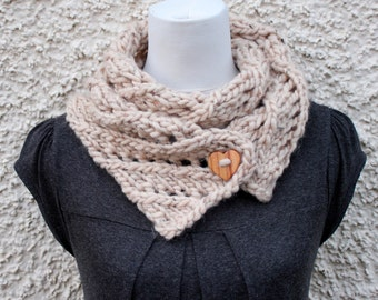 Knitting pattern for women - diagonal lace Big Softie scarf pattern, Listing139