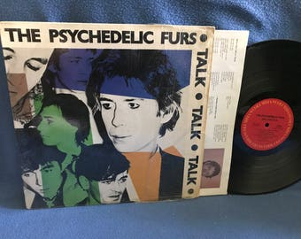 "RARE, Vintage, The Psychedelic Furs - ""Talk Talk Talk"", Vinyl LP Record Album, Original 1981 First Press, Pretty In Pink, No Tears, New Wave"