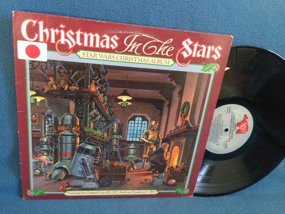 Rare Vintage Star Wars Christmas In The Stars
