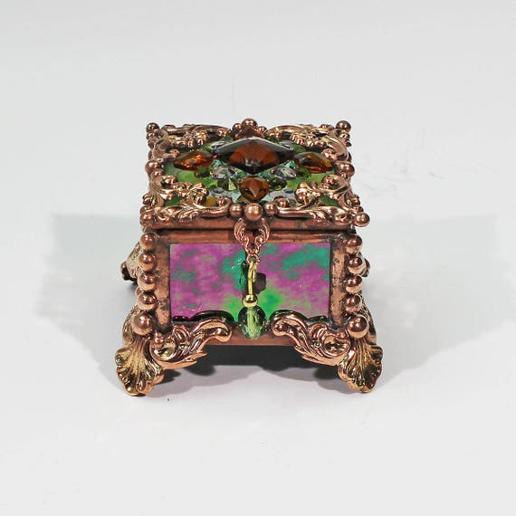 Jewel Encrusted Fairy Box