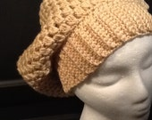 Box pattern slouch hat