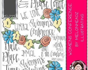 Women's Conference clip art