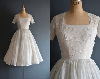 Adelina / 50s wedding dress / short wedding dress