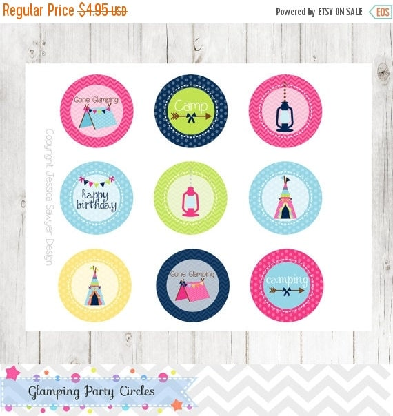 80 Off Instant Download Glamping By Jessicasawyerdesign