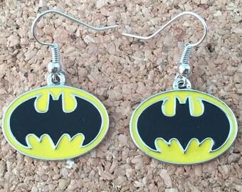 Batman inspired earrings