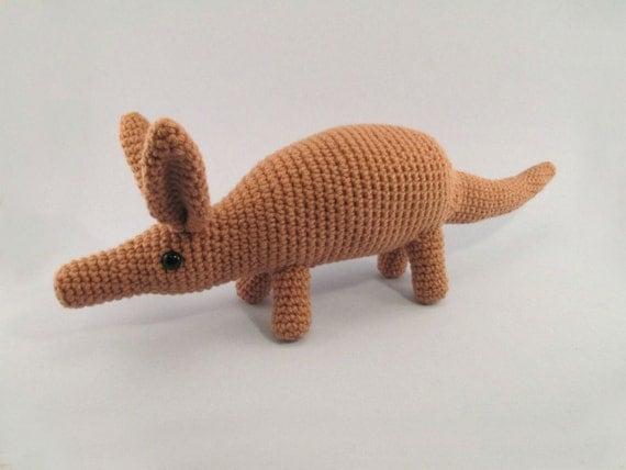 Aardvark Crochet Amigurumi - Made to Order