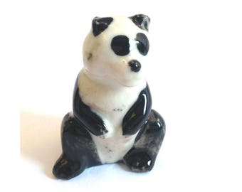 Wade Whimsie: Panda figurine 1957/61 Miscellaneous issue - Wade Panda - Whimsie Panda - Wades - Wade Figurines - Wade Collectables - Wades