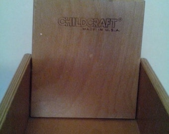Child Craft Bent Plywood Chair