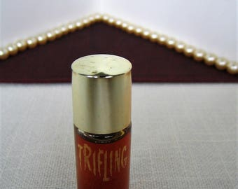 LENEL TRIFLING Perfume Vintage Miniature Perfume Bottle Mini 1 Dram Discontinued Fragrance Full