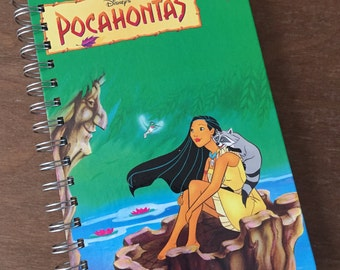 Pocahontas Recycled Journal Notebook Disney's Wonderful World of Reading