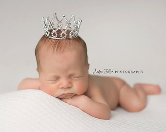 Newborn Crown - princess crown - Photo Prop | Tiara - Finn/Fiona