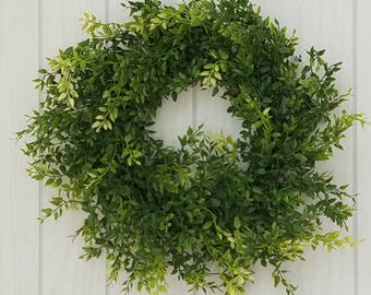 Faux Wreath Door or Wall Farmhouse