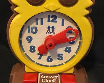 Old owl toy clock | Owls & Everything Else | Pinterest ...