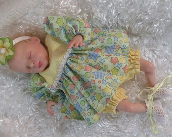 Reborn Silicone Doll Dress Set for 11-12 inch Art Doll CLOTHING ONLY!