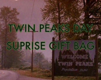 Twin Peaks Day Surprise Gift Bag