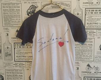 Santana 1981 Zebop Tour Tshirt