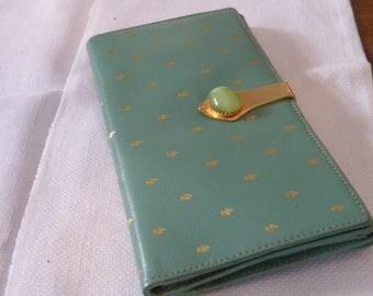 Vintage Vergottini Italian Leather Wallet