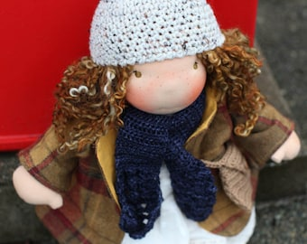 """Grace, a Wild Ginger 16"""" Waldorf Doll"""