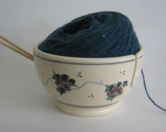 Yarn Bowl  Knitting Bowl