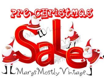 Pre Christmas Sale at MargsMostlyVintage