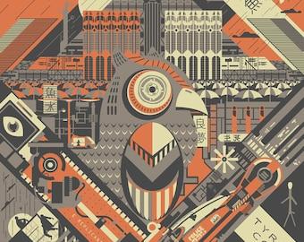 Blade Runner - 1982 - 24x36 inch Poster