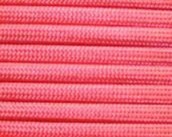 100 ft hank Think Pink  550 Paracord