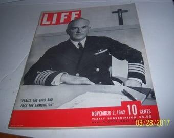 Nov 2, 1942 Life Captain William Maguire San Diego Naval Training Station WWII Magazine