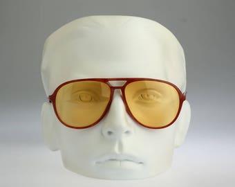 Silhouette M 2708 C 1378, Vintage aviator sunglasses, 80s mens & women unique and rare / NOS