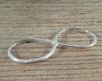 Infinity Charm Silver Choose Size - Handmade Infinity, Silver Infinity, Plain Infinity, Infinity Pendant, Infinity Charm, Wholesale