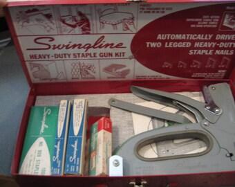 Vintage Swingline Staple Gun Kit, Model 900/5