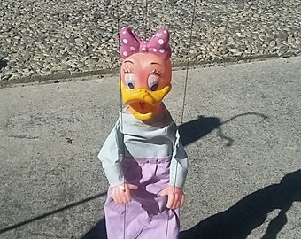 Daisy Duck Marionette donald duck