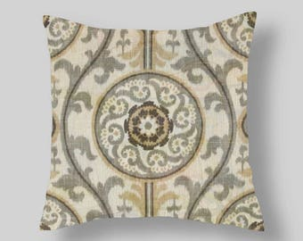 Brown  Pillow Covers  Decorative Pillows  Brown Grey Pillows  26 inch  Accent Pillows Throw Pillows Decorative Pillows Home
