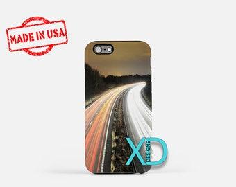 Long Exposure iPhone Case, Highway iPhone Case, Car iPhone 8 Case, Drive, iPhone 6s Case, iPhone 7 Case, Phone Case, iPhone X Case, SE Case