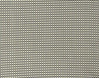 SALE Black Mini Check Grid Plaid by Denyse Schmidt for Free Spirit Fabric New Bedford Black Gray Geometric Modern Quilting Fabric Mini Plaid