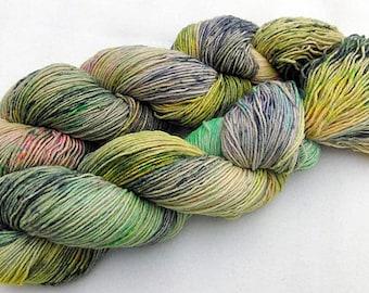 Handpainted Sock Yarn, 75 Wool  superwash, 25 Nylon 100g 3.5 oz.  Nr. 166