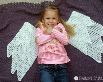 Crochet Pattern, Embraced by Angels Blanket, Afghan, Throw