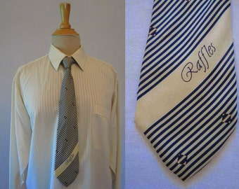 Raffles Silk Tie