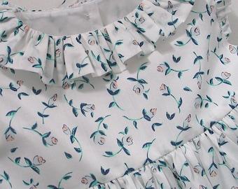 "Liberty ""Floating Flora"" Frilly Dress"